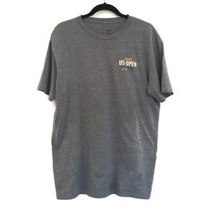 [VANS] Us open surf back print t-shirt cotton tee